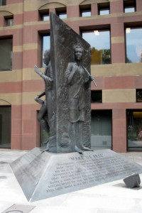 Amistad Memorial Sculpture by Ed Hamilton
